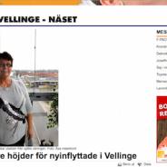 Högre höjder för nyinflyttade i Vellinge