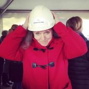 Kommunalrådet Katja Larsson (s) inviger starten för Kronetorpstaden!