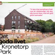 Läs om Kronetorp Park i Burlöv Centers tidning!